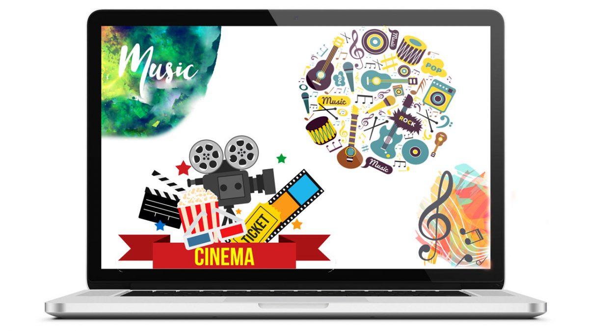 طراحی سایت موسیقی